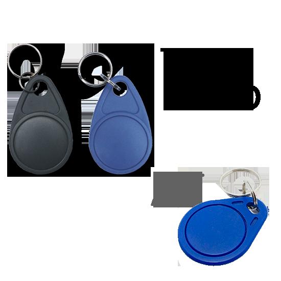 100pcs proximidad RFID llavero llave 125KHz ID Smart puerta entrada llavero