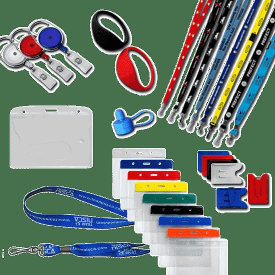 Accessoires identification badges