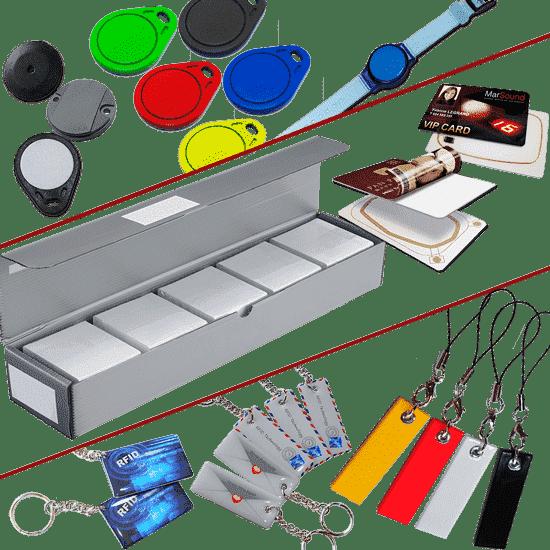 Badges et tags RFID