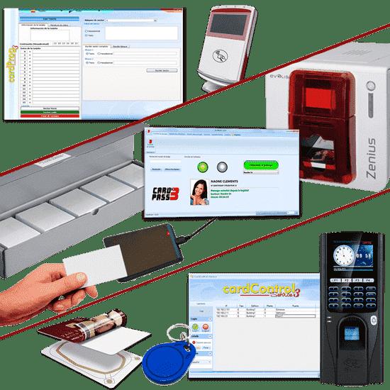 Identification et contrôle par badges RFID