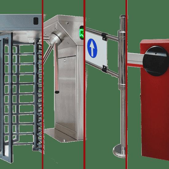 Tourniquets de contrôle d'accès
